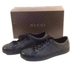 Gucci Tessuto GG Supreme Black Brooklyn Sneakers